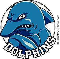 fej, cím, delfin, jel, delfinek, kabala