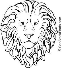 fej, oroszlán