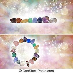 fejelőtéglák, 2, ismeretlen mennyiség, chakra, kristály