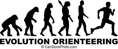 fejlődés, orienteering