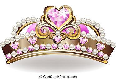 fejtető, hercegnő