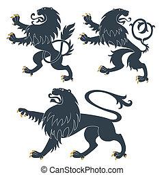 fekete, címertani, nevezetességek