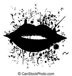 fekete, csókol