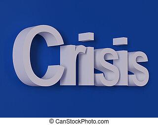 felírás, krízis