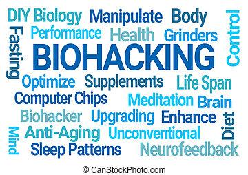 felhő, biohacking, szó