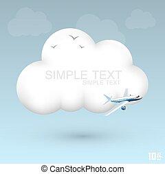 felhő, levegő