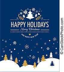 felirat, nyomdászat, karácsony, háttér, piros