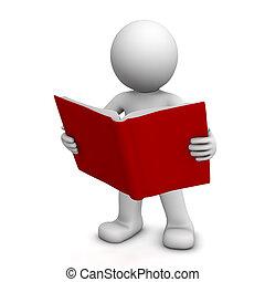 felolvasás, betű, könyv, 3