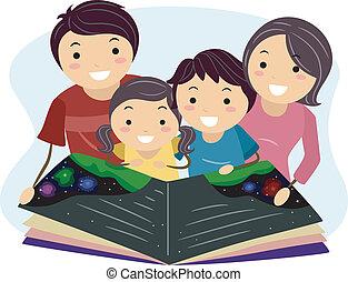 felolvasás, család