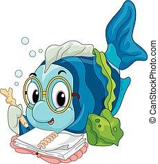 felolvasás, fish