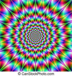 felrobbanás, psychedelic