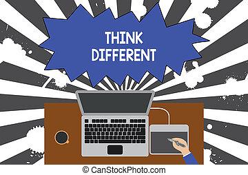 felső, fogalom, szöveg, laptop, helyzet, -e, vagy, tabletta, csésze, hivatal., írás, thoughts, lenni, kávécserje, munkás, jelentés, íróasztal, egyedülálló, cserél, different., fából való, rajz, kézírás, gondol, felteker, kilátás