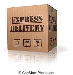 felszabadítás ökölvívás, expres, kartonpapír, konzervál