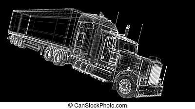 felszabadítás, teherárú jármű