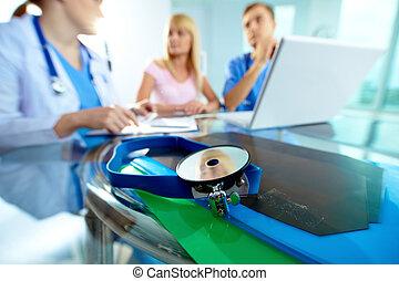 felszerelés, orvosi