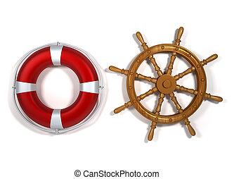 felszerelés, tengeri