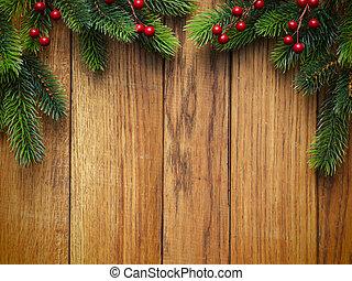 fenyő, fából való, fa, bizottság, karácsony