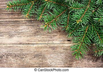 fenyő, fából való, fa, karácsony, háttér