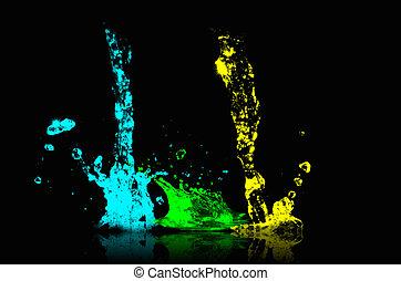 festék, felrobbanás