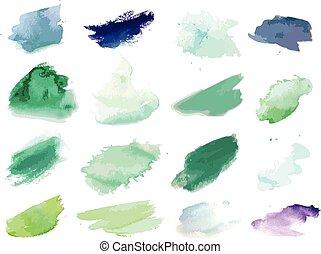 festék, locsogás, vízfestmény