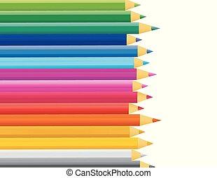festék, vektor, retro, rudacska