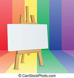 festőállvány
