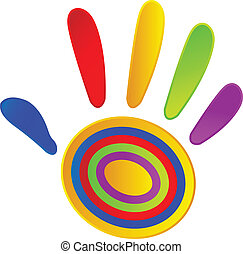 festett, befest, élénk, kéz