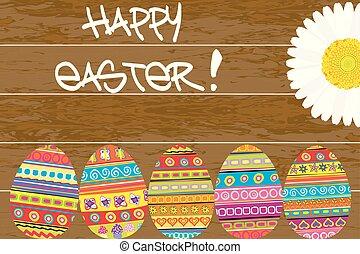 festett, fából való, ikra, húsvét, háttér