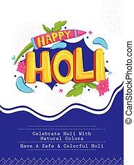 fesztivál, holi, india, befest, színes, háttér, hagyományos