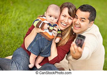 fiú, arcképek, bevétel, felfordulás életpálya, szülők, csecsemő, maga, boldog