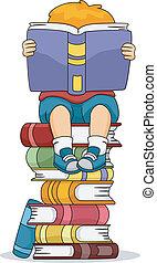 fiú olvas