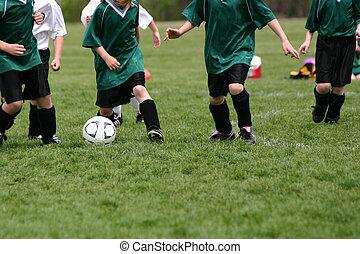 fiatalság, futball