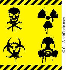 figyelmeztetés, signs.