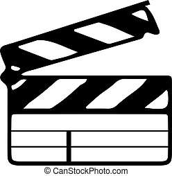 film, fehér, ikon, háttér