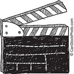film, skicc, clapperboard