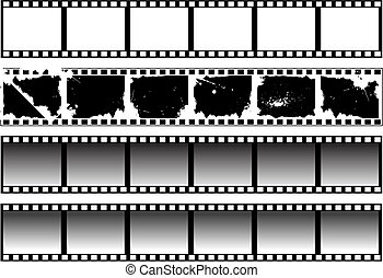 filmstrips, black-and-white, állhatatos