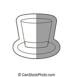 finom, ikon, kalap, illeszt