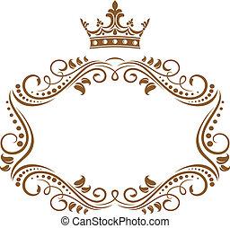 finom, keret, királyi lombkorona