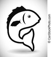 fish, design.