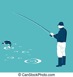 fish, halász