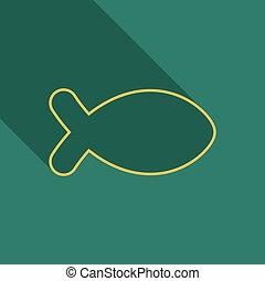 fish, jelkép, jézus