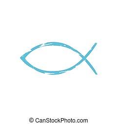 fish, keresztény, jelkép