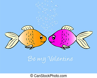 fish, love.