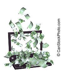 fizetés, internet