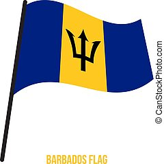 flag., nemzeti, ábra, hullámzás, háttér., lobogó, vektor, fehér, növény faj