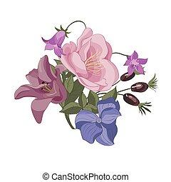 floral bouquet, ábra