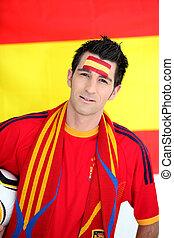 foci rajongó, spanyol