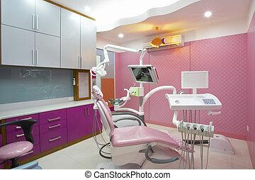 fogász, klinika
