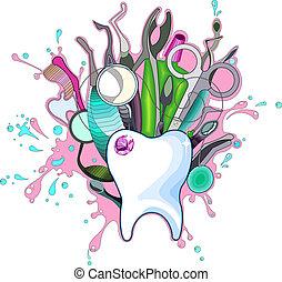 fogászati műszerek