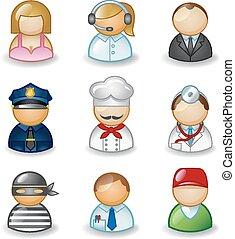 fogadalmak, avatars, különböző